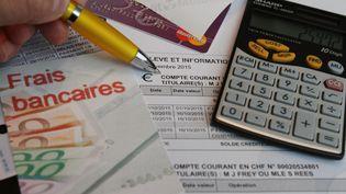 Les frais bancaires représentent 19 euros en moyenne par an. (JEAN-FRAN?OIS FREY / MAXPPP)