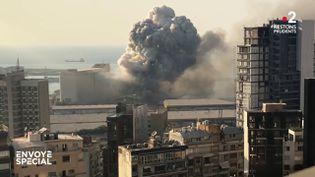 Envoyé spécial. Beyrouth, une bombe au coeur de la ville (ENVOYÉ SPÉCIAL  / FRANCE 2)