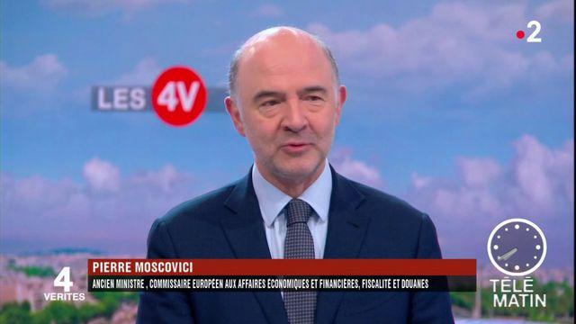 """Les 4 Vérités : """"La décision de Trump est économiquement inacceptable"""", selon Moscovici"""
