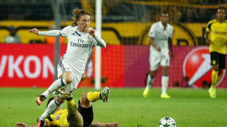 Le milieu de terrain du Real Madrid Luka Modric