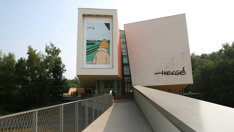 LeMusée Hergé à Louvain la Neuve  (CLOSON DENIS/ISOPIX/SIPA)