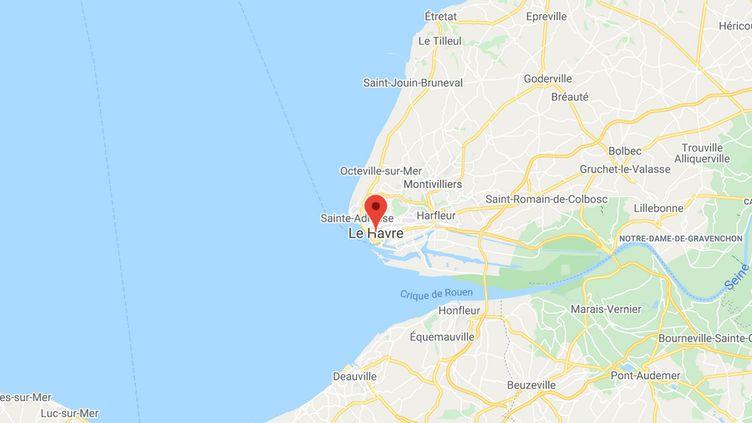 Le Havre en Normandie (GOOGLE MAPS)