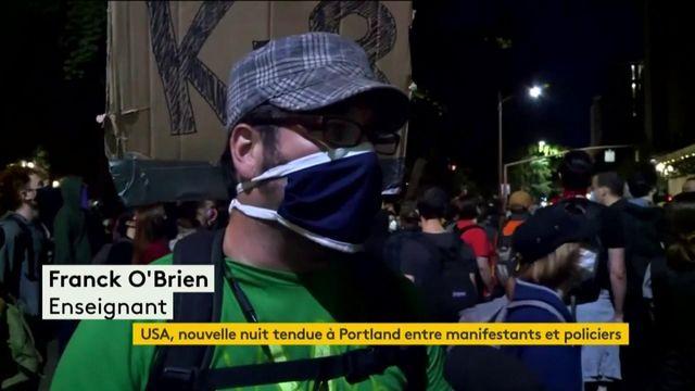 Etats-Unis : nouvelle nuit tendue entre manifestants et policiers