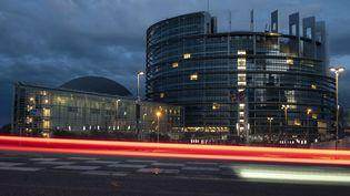 Le Parlement européen à Strasbourg, le 6 octobre 2020. (SEBASTIEN BOZON / AFP)