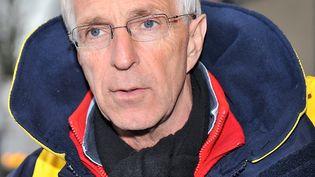 Jean-Claude Lenoir, président de l'association Salam, à Calais en 2009 (PHILIPPE HUGUEN / AFP)