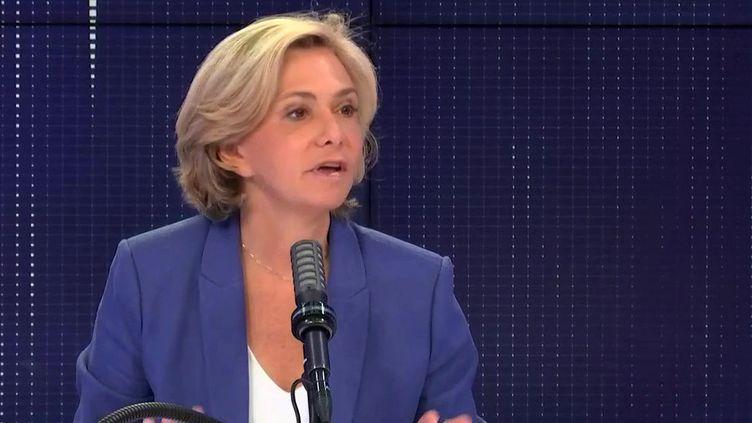 Valérie Pécresse, sur franceinfo, jeudi 24 juin. (FRANCEINFO / RADIOFRANCE)