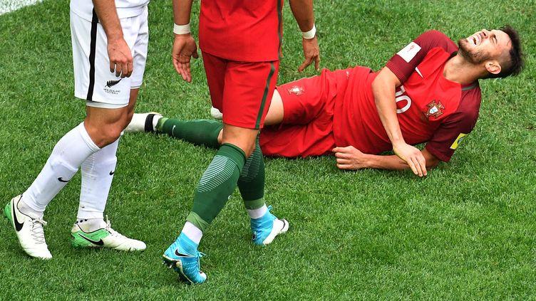 Bernardo Silva se tord de douleur avec l'équipe du Portugal (VLADIMIR PESNYA / SPUTNIK)