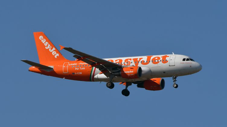 Un avion de la compagnie EasyJet. Image d'illustration. (PASCAL PAVANI / AFP)