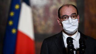 Jean Castex, le 29 octobre 2020, à Paris. (MARTIN BUREAU / AFP)
