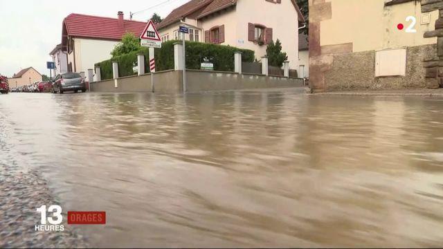 Intempéries : l'Alsace à nouveau frappée par les orages