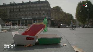 Déchets : les fast-foods hors-la-loi ? (ENVOYÉ SPÉCIAL  / FRANCE 2)