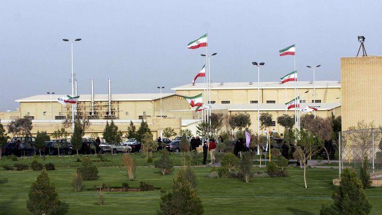 Le site d'enrichissement nucléaire de Natanz (Iran), le 9 avril 2007. (HASAN SARBAKHSHIAN / AP / SIPA )