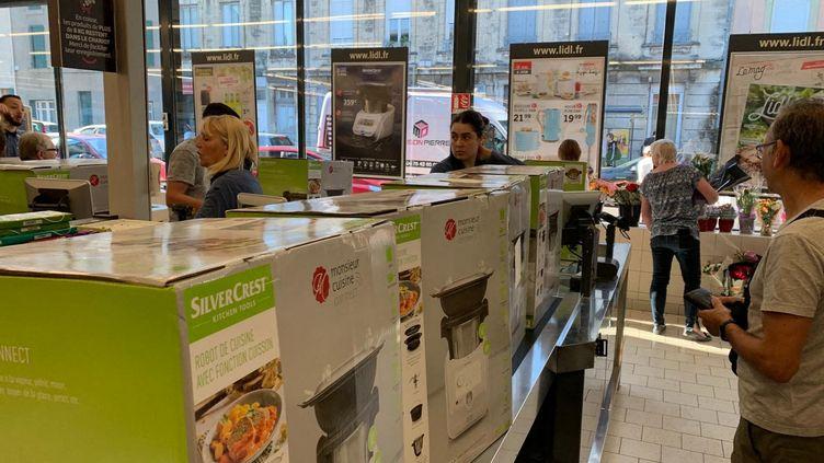 Le nouveau robot cuisine de Lidl pris d'assaut en quelques minutes le 3 juin 2019 (image d'illustration). (FRANCK DAUMAS / FRANCE-BLEU DROME-ARDECHE)