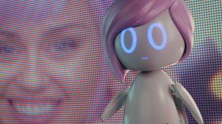 """Miley Cyrus incarne la vedette pop Ashley, clonée en poupée à son effigie, dans le troisième épisode de la 5e saison de """"Black Mirror"""" (NETFLIX)"""