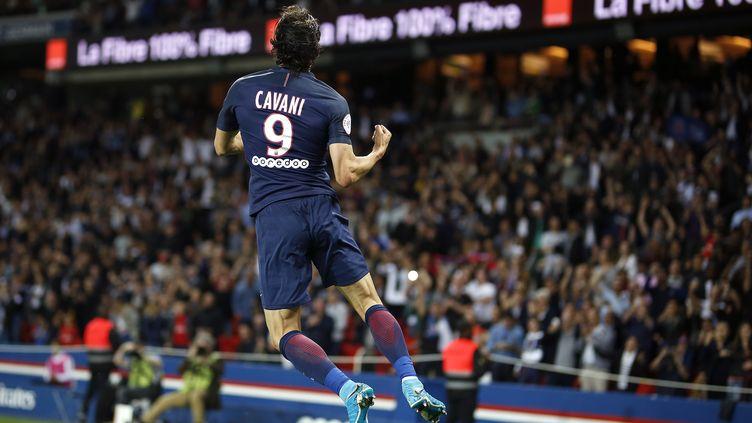 Edinson Cavani, meilleur buteur du PSG cette saison (BENJAMIN CREMEL / DPPI MEDIA)