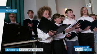 La chorale de la cathédrale de Berlin est interdite aux filles (France 3)