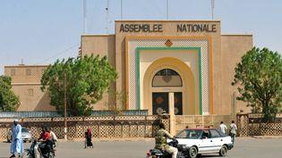 Vue de Niamey, près de l'Assemblée nationale, le 22 février 2010. La capitale du Niger gagne près de 100 000 habitants chaque année. (SIA KAMBOU / AFP)