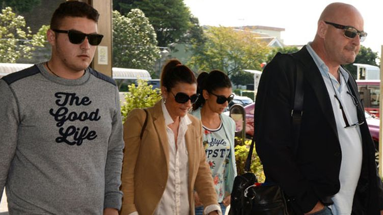 La famille Bianchi, Tom son frère, sa mère Christine, sa soeur Melanie et son père Philippe