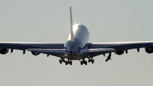 Un Airbus A380 d'Air France, le 30 octobre 2009, à Hamboug (Allemagne). (MARCUS BRANDT / AFP)