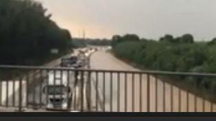 boue autoroute alsace (FRANCE 2)