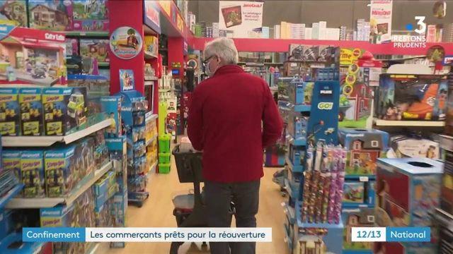 Confinement : les commerçants se préparent à la réouverture