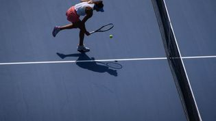L'US Open est le premier Majeur à prendre en compte la santé mentale des joueurs. (ED JONES / AFP)