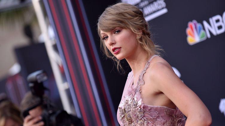 La chanteuse Taylor Swift lors des Billboard Music Awards à Las Vegas, le 20 mai 2018. (LISA O'CONNOR / AFP)