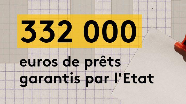 Cédric Lavignac a bénéficié au printemps 2020 de deux prêts garantis par l'Etat–un pour chacun de ses restaurants–pour un montant total de 332 000 euros. (JESSICA KOMGUEN / FRANCEINFO)