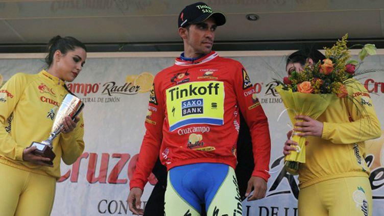 Alberto Contador (Tinkoff) (CRISTINA QUICLER / AFP)