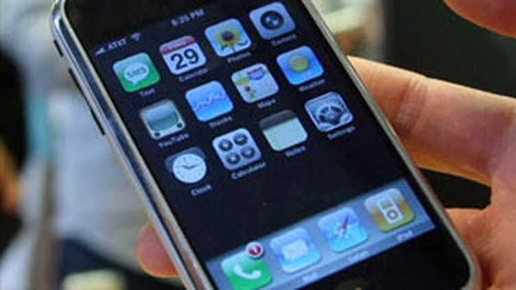 L'iPhone d'Apple (© AFP/GABRIEL BOUYS)