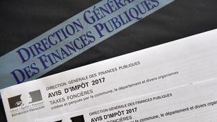 Photo d'illustration de lataxe foncière. (LOIC VENANCE / AFP)
