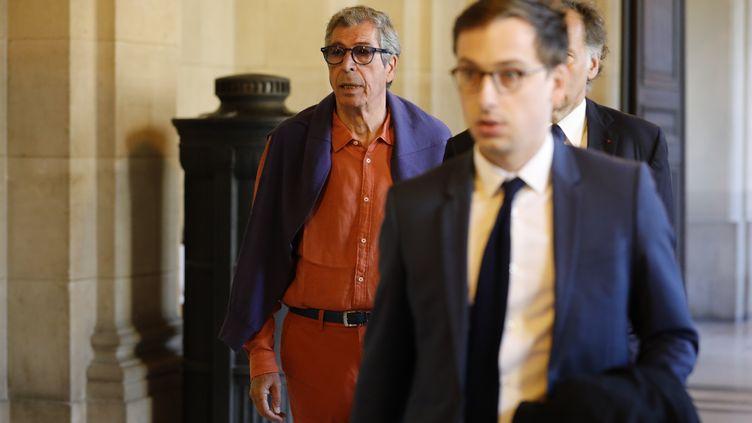 L'ancien maire de Levallois-Perret, Patrick Balkany, le 27 mai 2020 à Paris. (THOMAS SAMSON / AFP)