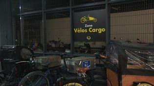 Lyon Parc Auto va créer 900 places réservées aux vélos dans ses parkings souterrains. (CAPTURE D'ÉCRAN FRANCE 3)