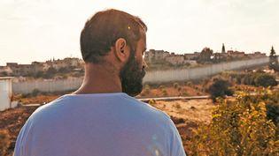 "Ali Suliman dans ""200 mètres"", deAmeen Nayfeh, juin 2021. (SHELLAC FILMS)"