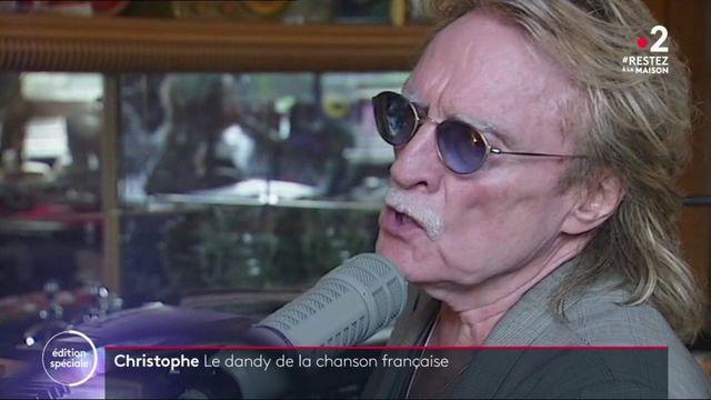 Décès de Christophe : le dandy de la chanson française s'est éteint