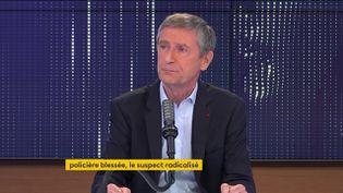 Frédéric Péchenard était l'invité de franceinfo dimanche 30 mai. (FRANCEINFO)