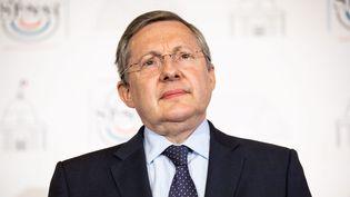 Philippe Bas lors d'une conférence de presse en juillet 2020. (ALEXIS SCIARD  / MAXPPP)