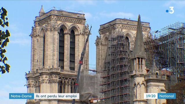 Notre-Dame : plusieurs licenciements en conséquence de l'incendie
