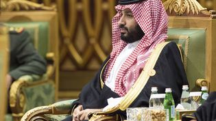 Le prince héritierMohamed Ben Salmane, à Riyad, en Arabie saoudite, le 10 décembre 2019. (AFP PHOTO / SAUDI ROYAL PALACE / BANDAR AL-JALOUD)