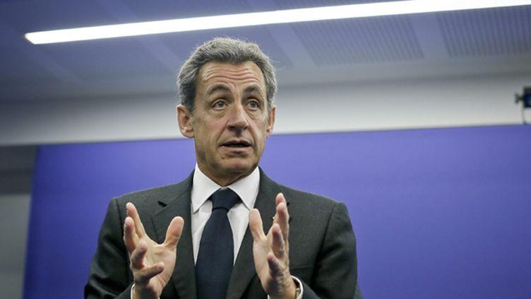 (La conférence de Nicolas Sarkozy à Abou Dhabi lundi fait débat © MaxPPP)