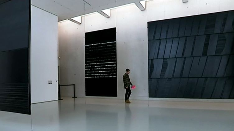 L'exposition du centenaire de Pierre Soulages à Montpellier (France 3 Languedoc-Roussillon/ B. de Tugny)