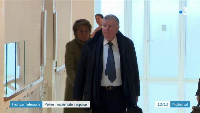 Procès France Télécom : des peines maximales requises à l'encontre des ex-dirigeants de l'entreprise