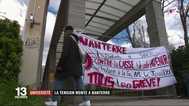 Université : la tension monte à Nanterre
