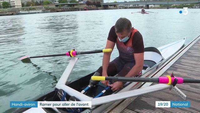 Handisport : à la rencontre des rameurs de l'équipe de France d'aviron avant les Jeux paralympiques
