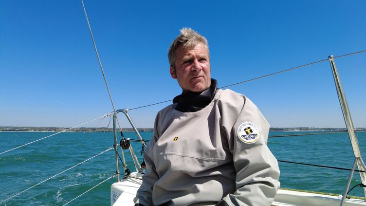 Le skipper Yann Eliès (Jean-Philippe Guivarc'h)
