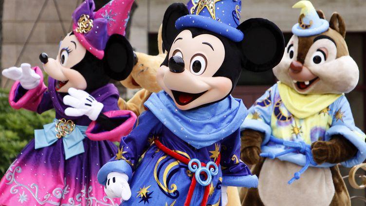Disney a décidé de retirer ses films du catalogue Netflix, mardi 8 août 2017. (YOSHIKAZU TSUNO / AFP)