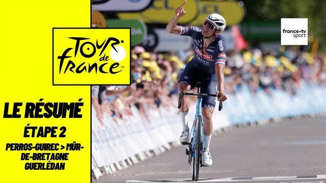 Tour de France 2021 : le résumé de l'étape 2