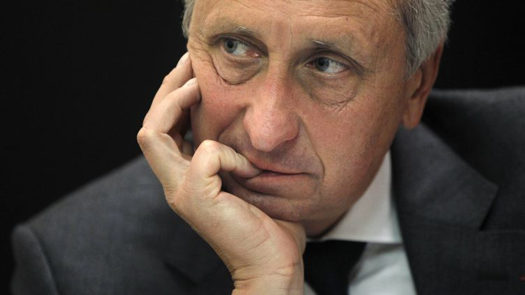 Le procureur Philippe Courroye, à Nanterre (Hauts-de-Seine), le 18 novembre 2010. (JOEL SAGET / AFP)