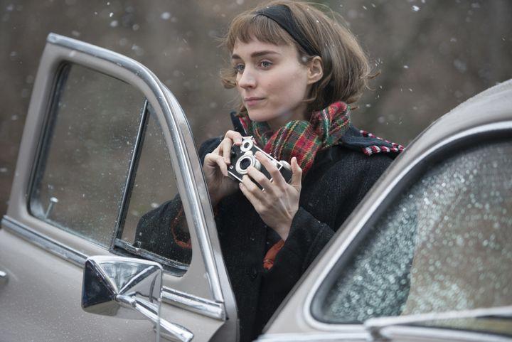 """Rooney Mara dans """"Carol""""  (Copyright Number 9 Films Ltd. / Wilson Webb)"""