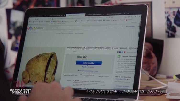 """Financement du terrorisme par le trafic d'art : des """"antiquités de sang"""" en vente sur eBay ? (COMPLÉMENT D'ENQUÊTE/FRANCE 2)"""